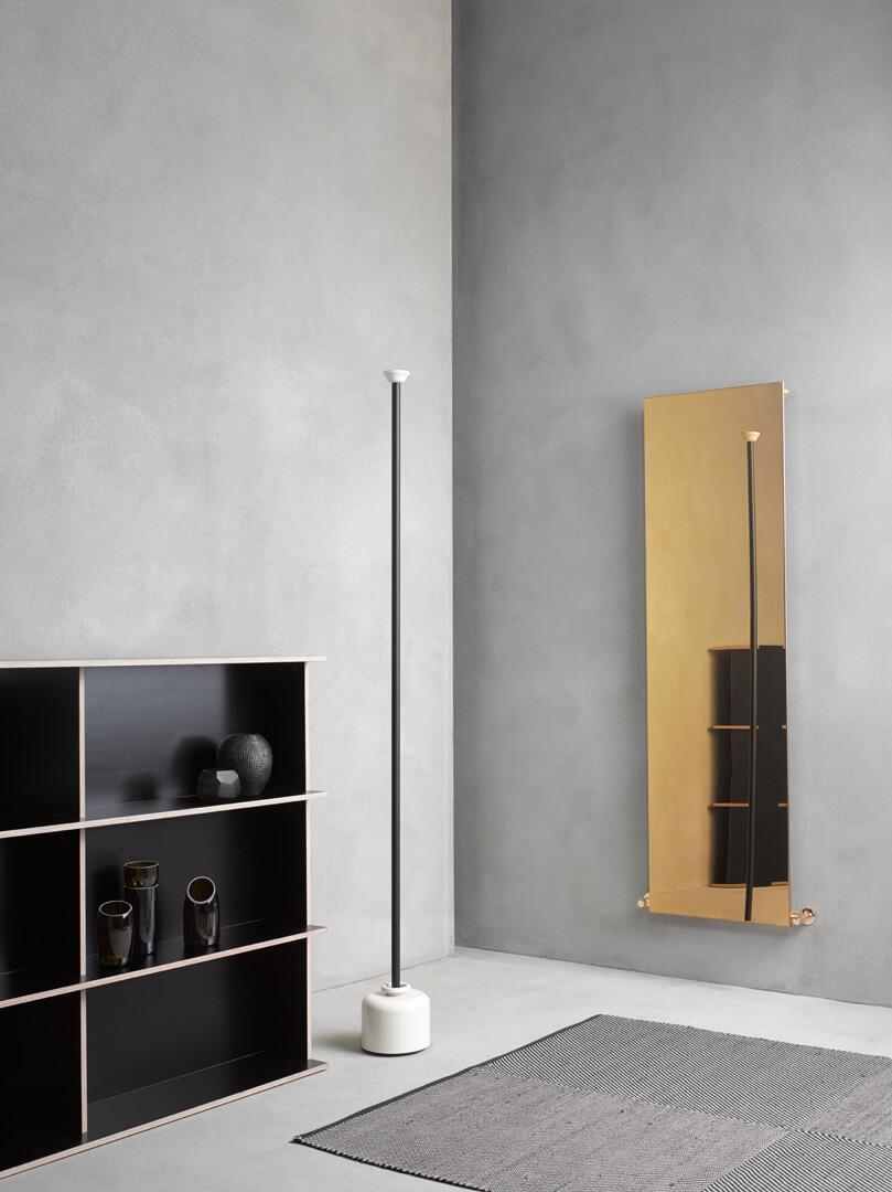 Caleido Ice Gold Design Heizkörper