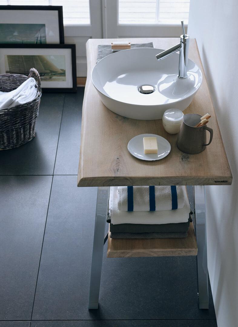 Cape Cod Aufsatz-Waschbecken rund