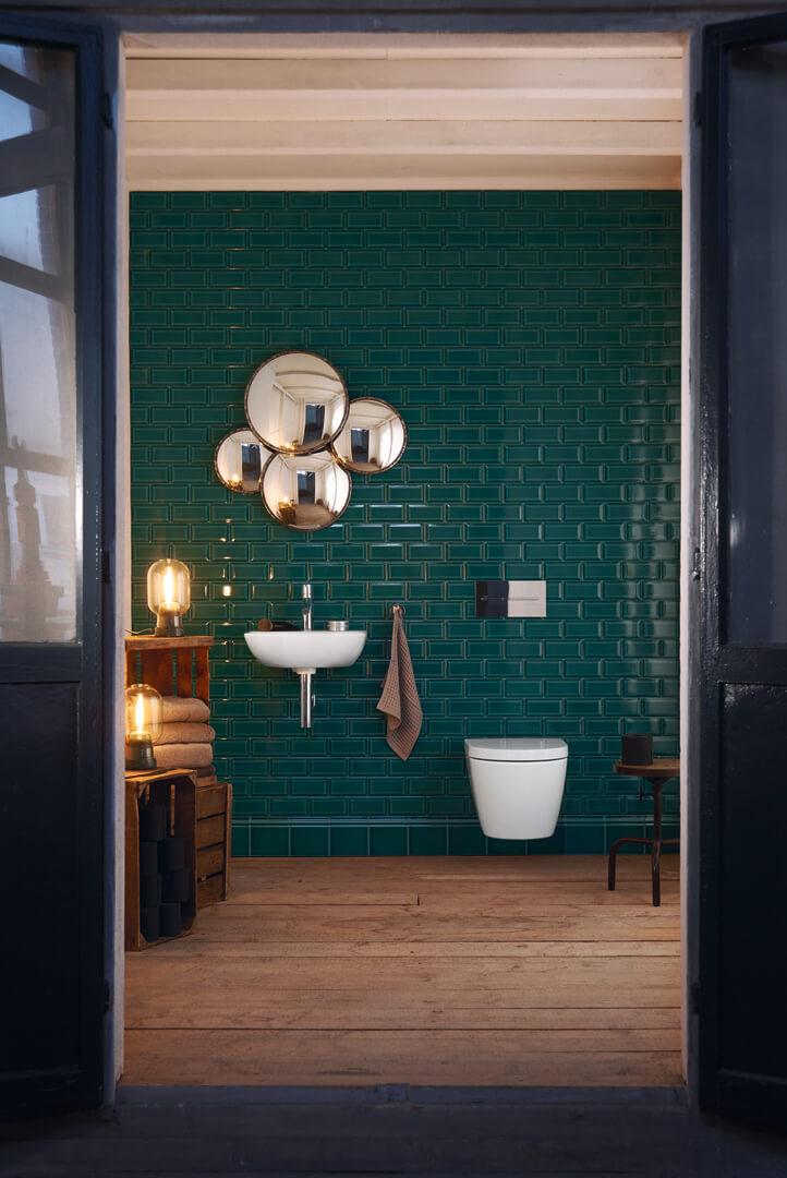 ME by Starck Waschtisch und Wand-WC