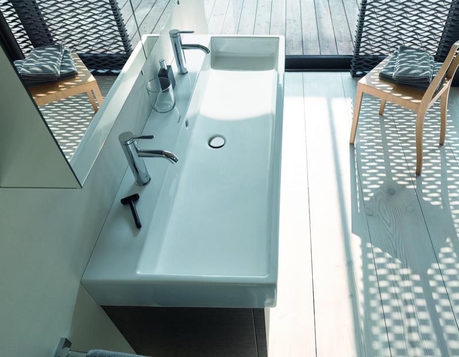 VERO AIR Möbelwaschtisch auf Waschtischunterbau stehend