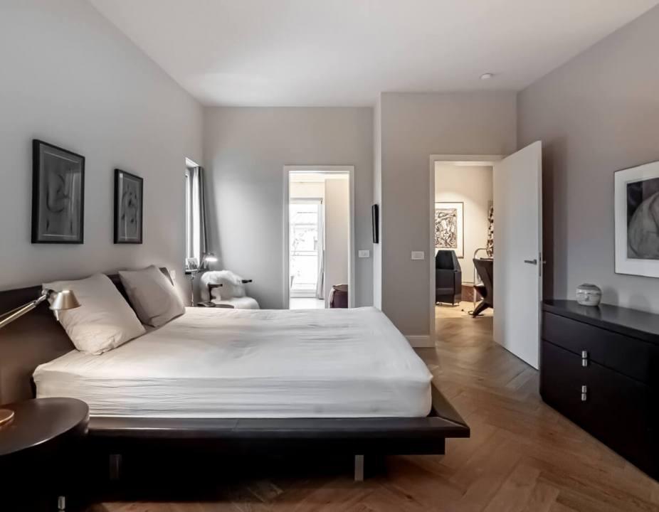 Penthouse-Neustadt-Schlafzimmer